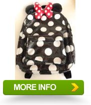 Methods Disney Parks Minnie Mouse Sequin Backpack Adult Size NEW ... e2c83f4d0eb30